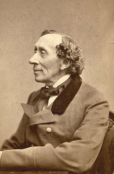 Dieses Foto von Andersen wurde im Oktober 1867 von Hallager gemacht